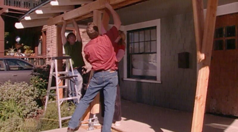 Fixing a Drooping Porch Roof